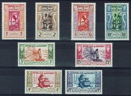 Dahomey (Benin), Handicraft, 1961, MNH VF  Complete Set Of 8 - Benin - Dahomey (1960-...)