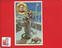 JOLIE CHROMO VIEILLEMARD OPERA SALAMBO REYER CHARMEUSE SERPENT NUIT GUSTAVE FLAUBERT - Trade Cards