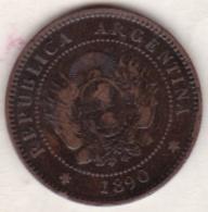 ARGENTINE / TUCUMAN . UN CENTAVO 1890. BRONZE - Argentina