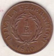 ARGENTINE /  BUENOS AIRES. 1 REAL 1840 - Argentinië