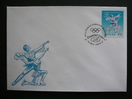 FDC - Winter Olympic Games, Nagano'98 # Lietuva Litauen Lituanie Litouwen Lithuania 1998 - Lithuania