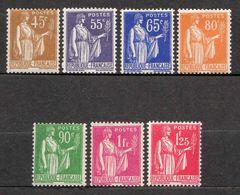 """N°1932/37 """"Paix"""" N°282,363,365à367,369/70 Neufs** TB 3,50 € (cote 28 € 7 Valeurs) - Unused Stamps"""