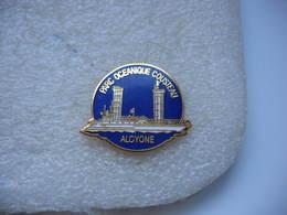 Pin's Du Parc Océanique COUSTEAU Alcyone - Badges