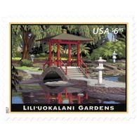 Stamps USA 2017. Liliuokalani Gardens. Priority Postage. - United States