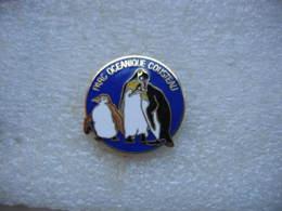 Pin's Du Parc Océanique COUSTEAU: Pinguins - Badges