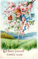 Les Fleurs Passent, L'Amitié Reste - Enfant - Papillons - Lila - Altri