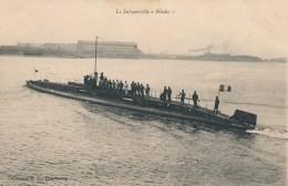 CPA Bateaux Sous-marin Le Submersible Nivôse - Sous-marins