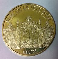 69 LYON PARC DE LA TÊTE D'OR MÉDAILLE MONNAIE DE PARIS 2018 JETON TOKEN MEDALS COIN - Monnaie De Paris