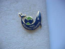 Pin's Du Parc Océanique COUSTEAU: Baleine - Badges