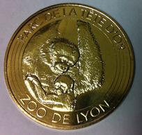 69 LYON ZOO LES SINGES MÉDAILLE MONNAIE DE PARIS 2018 JETON TOKEN MEDALS COIN - Monnaie De Paris