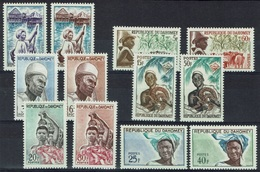 Dahomey (Benin), Definitives, 1963, MNH VF  Complete Set Of 12 - Benin - Dahomey (1960-...)