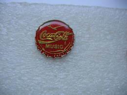 Pin's Capsule Métallique Coca Cola Music - Coca-Cola