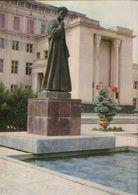 Uzbekistan - Postal Stationery Postcard Unused 1974 - Tashkent - Monument Alisheru Navoi - 2/scans - Uzbekistan