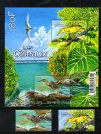 FR. POLYNESIA,  2016,  BIRDS, 2v.+ S/S,, MNH** - Oiseaux