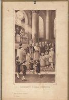 1934 - Ricordo Della Cresima Non Personalizzato In Cartoncino Pesante; Dimensioni Cm 19,5 X 29. - Diplomi E Pagelle