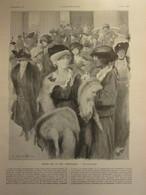 1913 Scènes De La Vie Parisienne PARIS  Mode Turque  Turquie  Fourrure Et Voile Renard  Fashion French Yachmak - Saverne