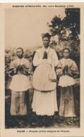CPA NIGER Premier Prêtre Indigène Du Vicariat Missions Africaines Lyon - Niger