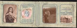 Religion & Esotérisme Médaille De Sainte Thérèse Et Pétale Bénits - Religion & Esotericism