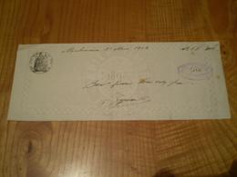 Malaucène Vaucluse 1904, Papier Filigrané 1898, Timbre Fiscal Humide 15c; Bon Pour 300 Frs, Signé Reynard Paul - Cambiali