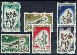 Dahomey (Benin), African Games In Dakar, Senegal, 1963, MNH VF   Complete Set Of 6 - Benin - Dahomey (1960-...)