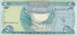 IRAQ 500 DINARS 2003 2004 P-92 FIRST PREFIX NO ONE (1) SCARCE UNC */* - Iraq