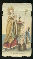 SAN NICOLA DA BARI - ANTICO SANTINO - HOLY CARD (18) - Santini
