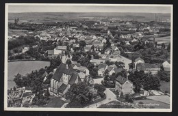 DR Bildpostkarte Fotokarte Fliegeraufnahme 1936 Geithain Nach Leipzig K1121 - Briefe U. Dokumente