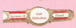 Sigarenband - Café Gildenhuis Lorzestraat 18, DESSEL - Sigarenbandjes