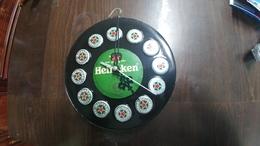 Israel-wall Clock On Battery-heineken Quality Beer-(7)-good Payler - Bijoux & Horlogerie