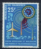 Dahomey (Benin), UAMPT, 1963, MNH VF  Airmail - Benin - Dahomey (1960-...)