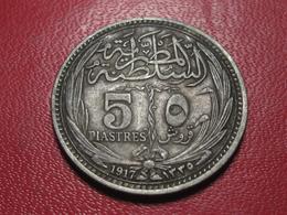 Egypte - 5 Piastres 1917 4544 - Egypt
