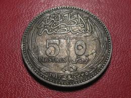 Egypte - 5 Piastres 1917 4548 - Egypt