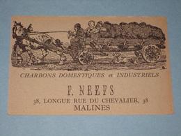MALINES Reclamekaart F. NEEFS Door A. Ost - Malines