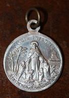 """Pendentif Médaille Religieuse Mission Coloniale """"Sancta Infantia / Africa - Asia"""" Religious Medal - Religion & Esotérisme"""