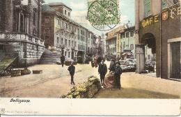 SUISSE  Bellinzona  1906 - TI Tessin