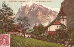 SUISSE Grindelwald  Kirche  1908 - BE Bern