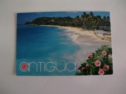 Postcard Postal Antigua Darkwood Beach - Antigua & Barbuda
