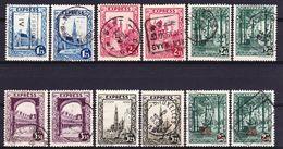 België Kleine Verzameling Express Gestempeld, Zeer Mooi Lot K591 - Francobolli