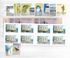 2003 MNH Aland Year Collection, Over-complete - Aland