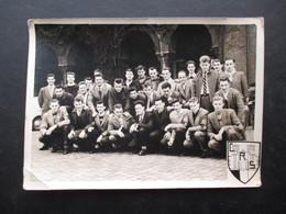 PHOTO GROUPE DE JEUNES  (M1801) CRS (1 Vue) Petit Château Bruxelles? - Krieg, Militär