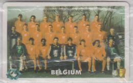 BELGIUM 1998 FOOTBALL NATIONAL TEAM USED PHONE CARD - Sport