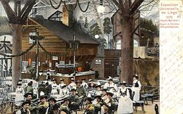 Liège - Exposition 1905 - Haute Bavière (animée, Café, Colorisée, 1905) - Luik