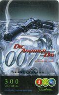 Mobilecard Thailand - 12Call - Movie,Film,cinema - James Bond - Die Another Day (2) - Kino