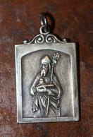 """Rare Pendentif Médaille Religieuse Coloniale """"Bras De Saint Augustin - Hippone"""" Bône Algérie Française - Religious Medal - Religion & Esotérisme"""