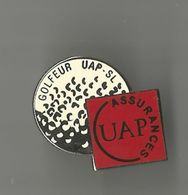Pin's Golfeur UAP SL° - Golf