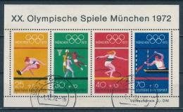 Duitsland/Germany/Allemagne/Deutschland 1972 Mi: Block 8 (Gebr/used/obl/o)(3165) - Blocks & Sheetlets