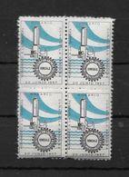 MONUMENTO A LA BANDERA - ROSARIO - 20 DE JUNIO DE 1957 RARISIMA VIÑETA - FEDERACION GREMIAL DEL COMERCIO E INDUSTRIA BLO - Affrancature Meccaniche/Frama