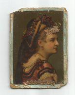 ÉTIQUETTE ANCIENNE AVEC FEMME OLD LABEL WITH LADY ANTIGUA ETIQUETA CON MUJER EPOCA - Labels