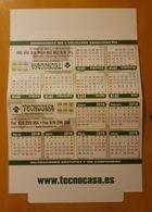 2018 CALENDARIO TAMAÑO MEDIANO. PUBLICIDAD TECNOCASA. - Calendarios