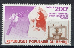Benin, Graham Bell, Telephone, 1976, MNH VF - Benin - Dahomey (1960-...)